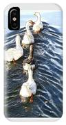 the Geese are leaving IPhone Case