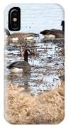 Geese Hangout IPhone Case
