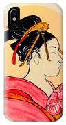 Geisha In The House Of Pleasure IPhone Case