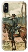 General Grant, Battle Of Shiloh, 1862 IPhone Case