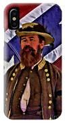 General Jeb Stuart Of Vmi IPhone Case