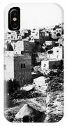 General View Of Bethlehem 1800s IPhone Case