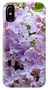 Gentle Purples IPhone Case