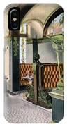 Gentlemen's Grill - Alexandria Hotel - Los Angeles - 1910s IPhone Case