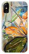 Geo Day Lilies IPhone Case