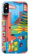 Geometric Art In Burano IPhone Case