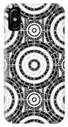 Geometric Black And White IPhone Case