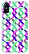 Geometric Crosses IPhone Case