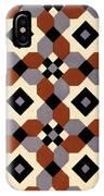 Geometric Textile Design IPhone Case