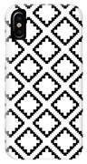 Geometricsquaresdiamondpattern IPhone Case