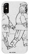 George Grosz 151 George Grosz IPhone Case