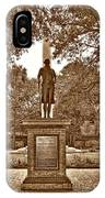 George Washington, Charleston,sc IPhone Case