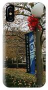 Georgetown Law Holiday IPhone Case