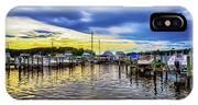 Georgetown Yacht Basin IPhone Case