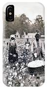 Georgia Cotton Field - C 1898 IPhone Case