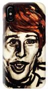 Georgie Fame Portrait IPhone Case