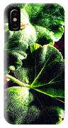 Geranium Leaves IPhone Case