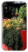 Geraniums And Gelato IPhone Case