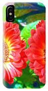 Gerbera Couple IPhone Case