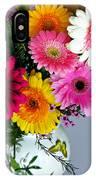 Gerbera Daisy Bouquet IPhone Case