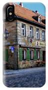 German Street Scene IPhone Case