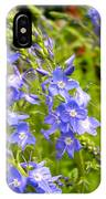 Germander Speedwell IPhone Case