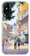 Germany Baden-baden Lange Strasse IPhone Case