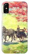 Germany Baden-baden Lichtentaler Allee Spring 2 IPhone Case