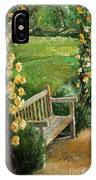 Germany Baden-baden Rosengarten  IPhone Case