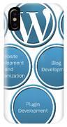 Get Result Oriented Word Press Development Services IPhone Case