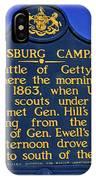 Gettysburg Campaign IPhone Case