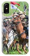 Gettysburg Cavalry Battle 8021c  IPhone Case