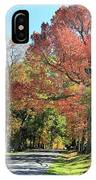 Gettysburg  In The  Fall IPhone Case