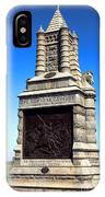 Gettysburg National Park 6th New York Cavalry Memorial IPhone X Case