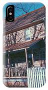 Gettysburg Series Weikert House IPhone Case