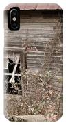 Ghostly Abndoned House IPhone Case
