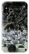 Ghostly Cemetary IPhone Case