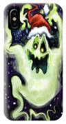 Ghostly Christmas Trio IPhone Case
