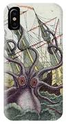 Giant Octopus IPhone Case