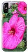 Giant Pink Hibiscus IPhone Case