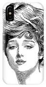 Gibson Girl, 1900 IPhone Case