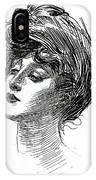 Gibson Girl 1902 IPhone Case