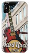 Gibson Les Paul Of The Hard Rock Cafe IPhone Case