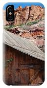 Gifford Homestead Capitol Reef National Park IPhone Case