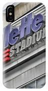 Gillette Stadium Sign IPhone Case