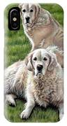 Gina And Boomer IPhone Case