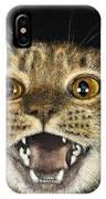Ginger Cat Eyes IPhone Case