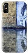 Girl In The Mural IPhone Case