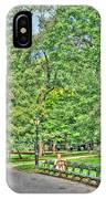 Girl Uninterrupted In Central Park IPhone Case
