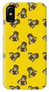Girl With Popsicle Yellow IPhone Case